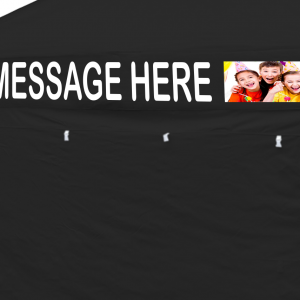 Personalised message Banner