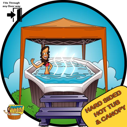 Hot tub & Gazebo