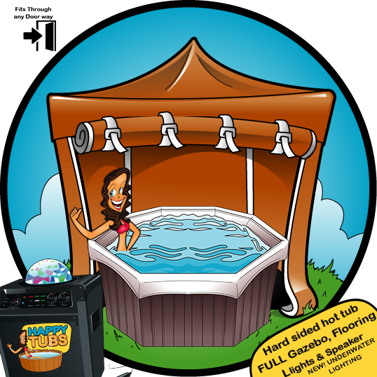 Hot tub hire in Doncaster