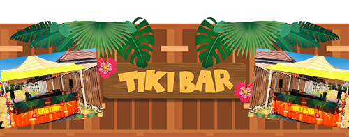 Pop up tiki bar hire