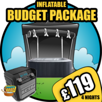 budget hot tub hire