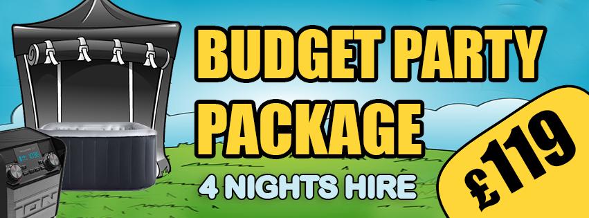 budget hot tub hire